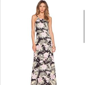 For Love And Lemons Dresses - For Love and Lemons Tropical print maxi dress